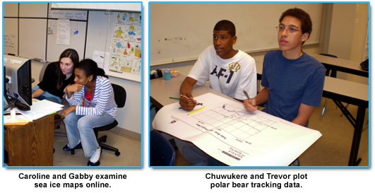 images of students in classroom